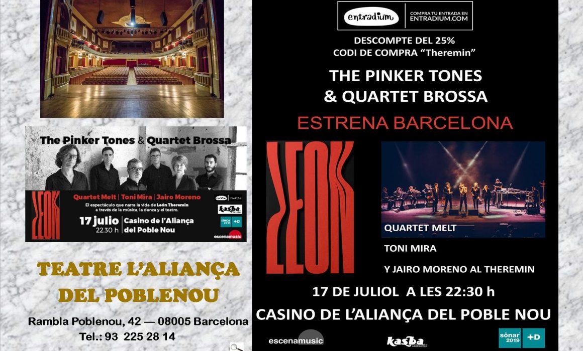 THE PINKER 17 07 2019 Espectacle al Casino Aliancça a Poblenou